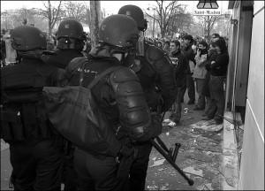 Forces policières par Alain Bachelier Retour d'actu
